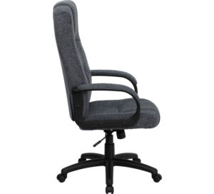 Beige Fabric Office Chair